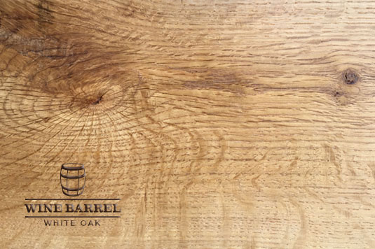wine barrel white oak is the result of materials that are discarded during the selection process of producing barrel staves for wine and whiskey barrels