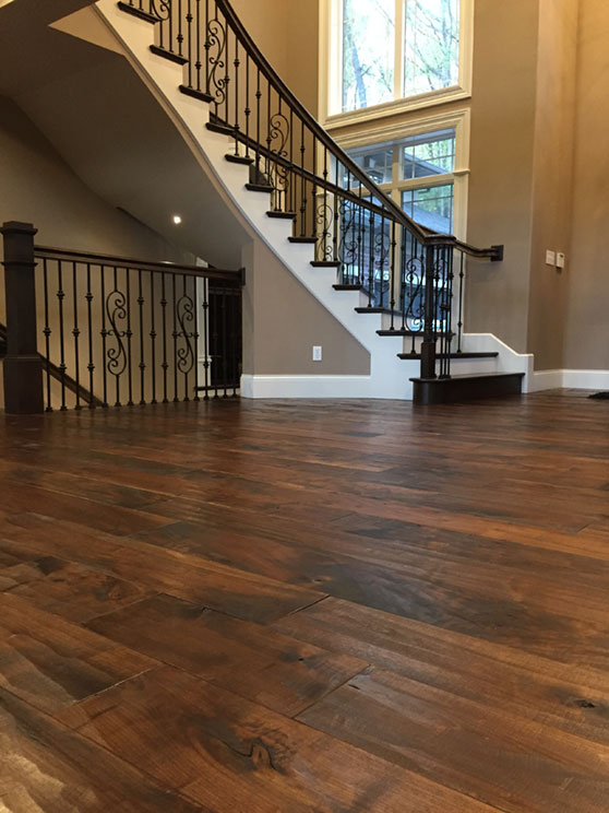 Home historic floor company for Hardwood floor finishes