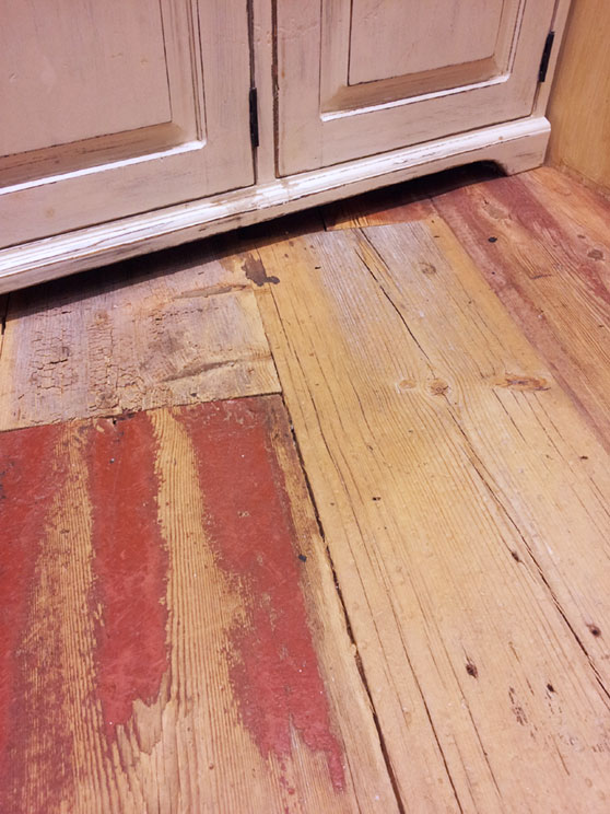 sugar pine natural distressed b red but paint no finish historic floor company - Distressed Pine Flooring