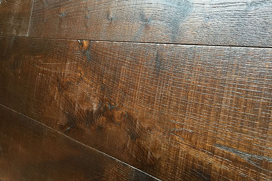 Wire Brushed White Oak Flooring Historic Floor Company