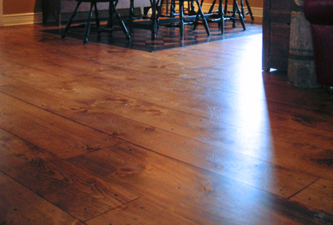 Silhouette Sugar Pine With Distressed Worm Hole Treatment